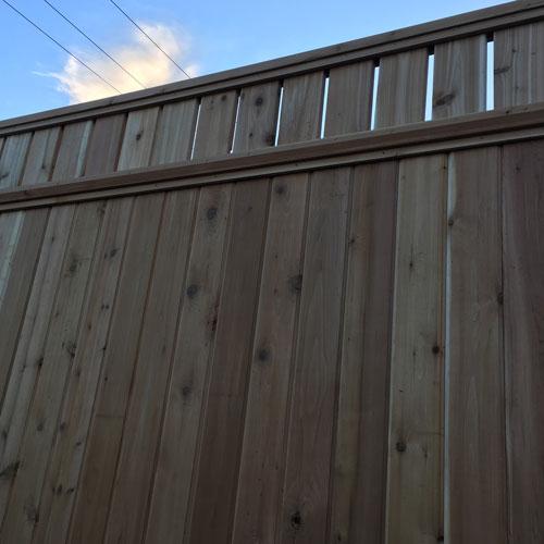 Cedar Fence Panels Wooden Fence Panels Big Red Cedar