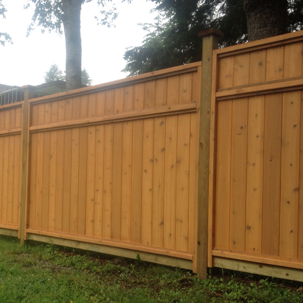 Big red cedar fence company lumber