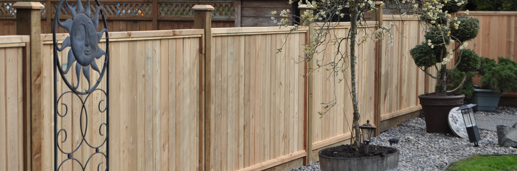 Cedar Fence Panels Wooden Fence Panels Big Red Cedar