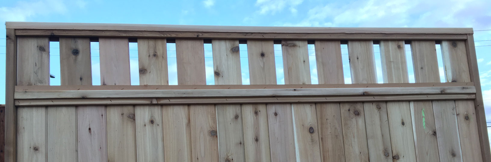 Windsor Cedar Fence Panels