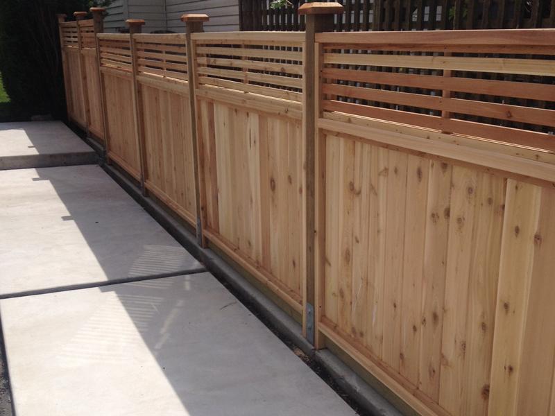 Venetian Cedar Fence Panels Big Red Cedar